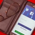 Facebook app on mobile